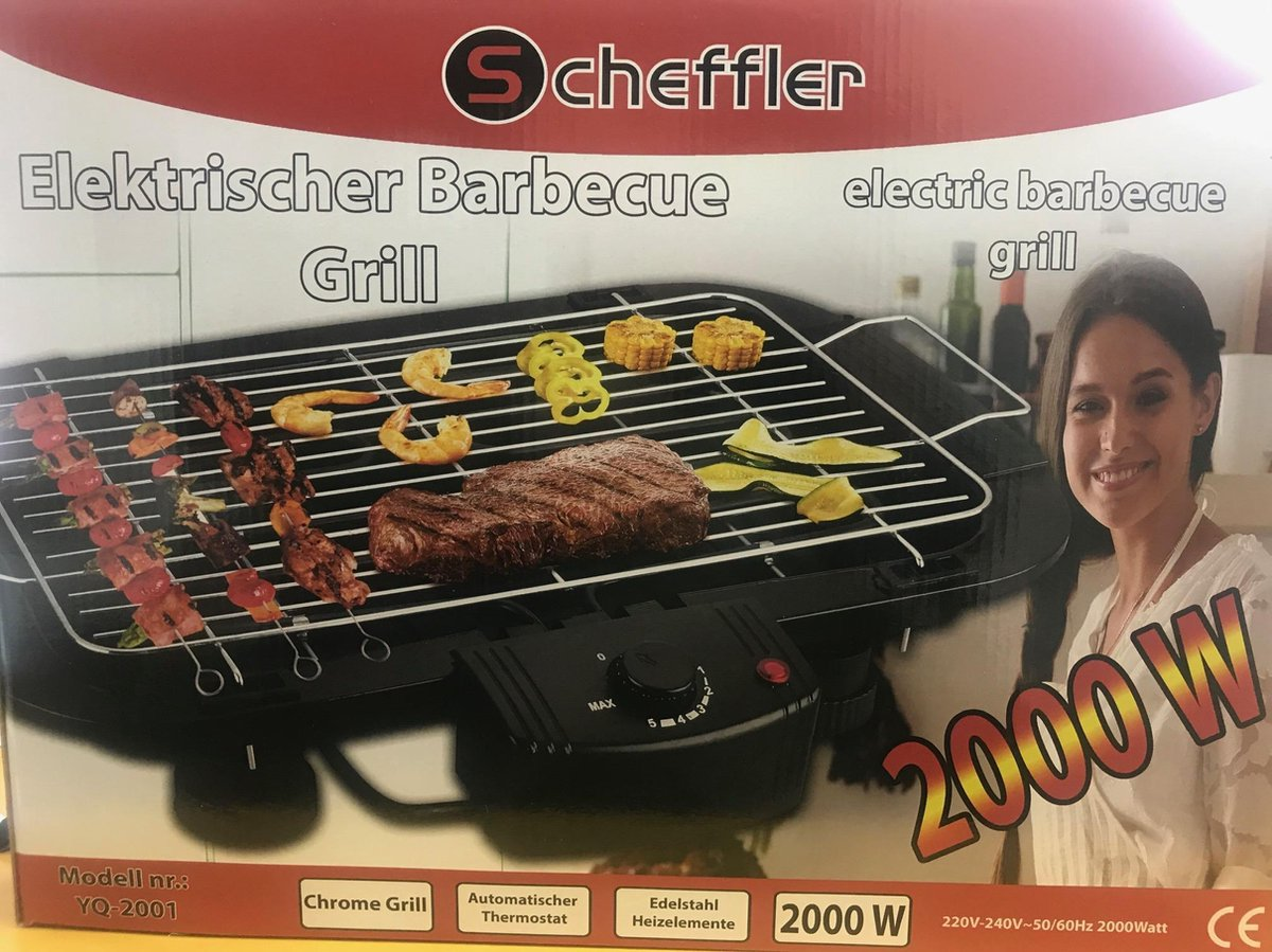 Electric Grill 2000watts