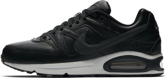 Nike Air Max Command Leather Sneaker Heren - Zwart/Neutral Grey/Anthracite - Maat 44.5