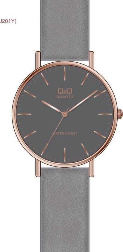 Mooi horloge Q&Q Q978J836Y -GRIJS