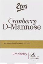 Etos Cranberry D-Mannose - 60 tabletten