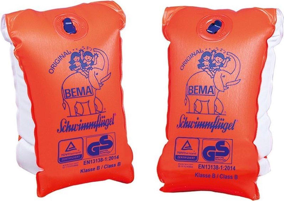 Bema opblaasbare zwembandjes 12-99 jaar/vanaf 60 kg voor kinderen/volwassenen - Maat 2 - Zwemhulp opblaas zwemmouwtjes/zwemvleugeltjes - Veilig zwemmen