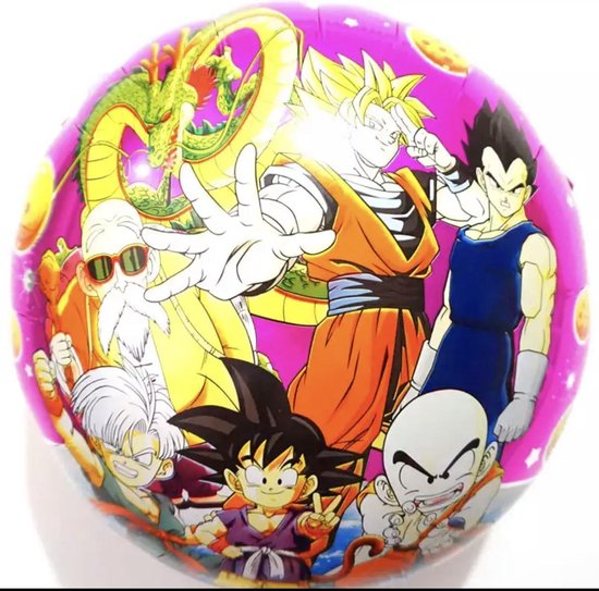 Dragon Ball Z Ballon - Dbz - Anime ballon - 45 x 45 cm - Foliballon