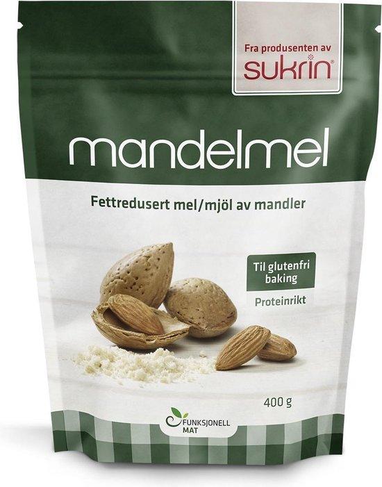 Sukrin Amandel meel (400g) - Koolhydraatarm, glutenvrij en een gezond alternatief voor meel