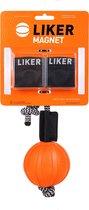 LIKER - Magnet 7 - Hondenspeelgoed - Bal met magneet (diameter 7 cm)