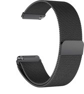Milanees bandje zwart geschikt voor Fitbit Versa (Lite)