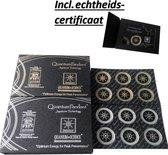 anti straling sticker - anti-straling sticker - anti straling sticker mobiele telefoon - anti radiation sticker - Inclusief Echtheidscertificaat - goud
