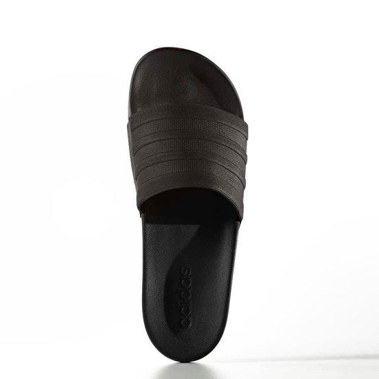 bol.com | adidas Adilette Cloudfoam + slippers zwart