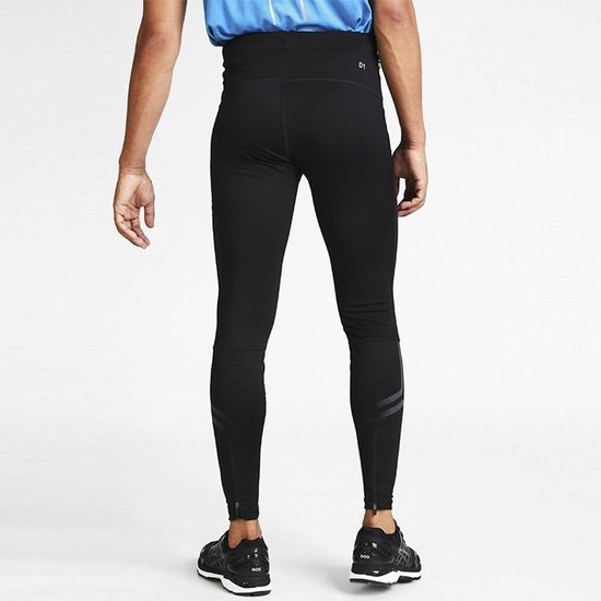 | Asics Icon tight heren zwartantraciet