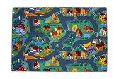 Afbeelding van Stratenplan Verkeerskleed 140 x 200 cm speelgoed