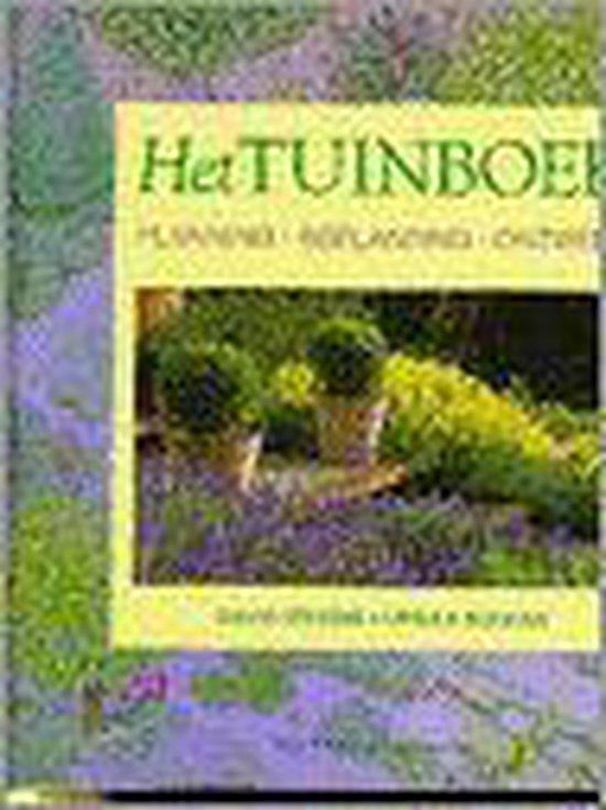 Boek cover Het tuinboek van David Stevens (Hardcover)
