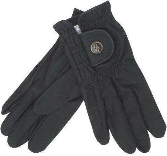 BR Huid- en vachtverzorging - Rijhandschoen BR Durable-Zwart -mt 8