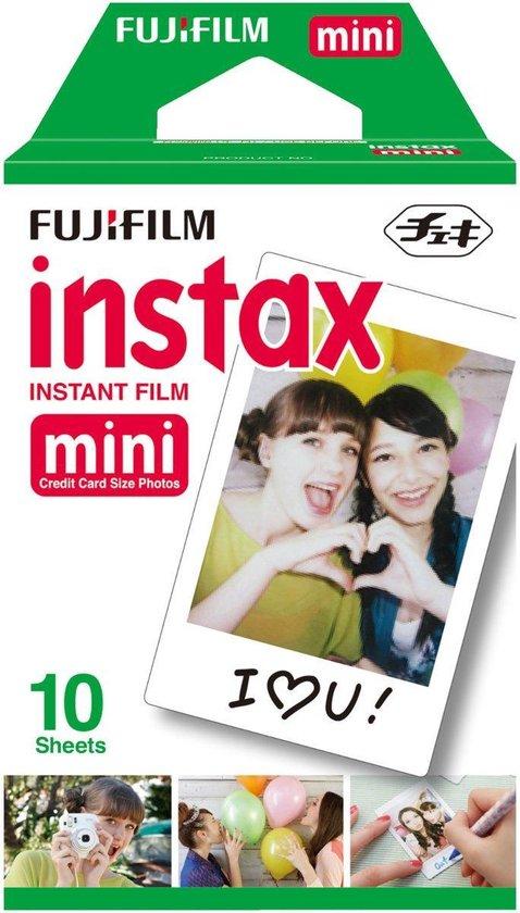 Fujifilm Instax Mini 9 - Incl. instax Film Mini 10st + Case - Ice Blue