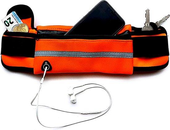 Running belt - Hardloop belt - Hardloop riem - Oranje