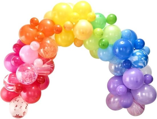 Ballonnenboog Kit - Regenboog