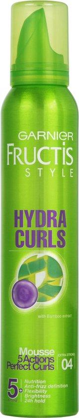 Garnier Fructis Hydra Krullen Styling Mousse - 200 ml - Extra strong