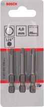 Bosch BIT 1/4XH-TORS/IS 4.0 /3 49MM - 3 stuks