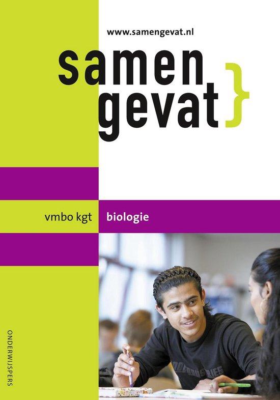 Boek cover Samengevat vmbo-kgt biologie van E.J. van der Schoot (Paperback)