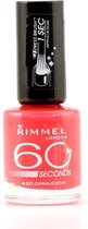 Rimmel London 60 seconds finish Nagellak - 430 Coralicious
