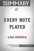 Summary of Every Note Played by Lisa Genova