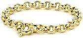 Casa Jewelry Armband Jasseron S - Goud Verguld