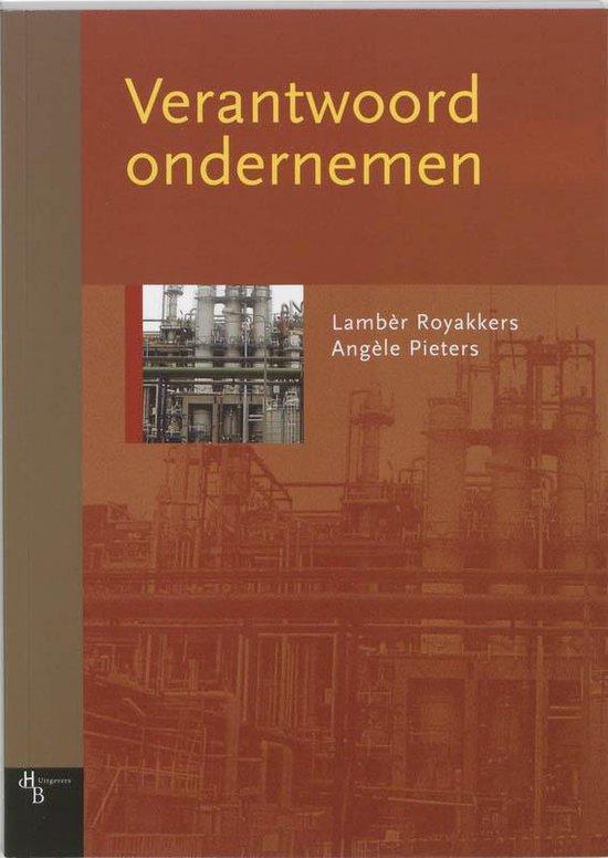 Verantwoord ondernemen - L. Royakkers pdf epub
