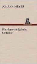 Plattdeutsche Lyrische Gedichte