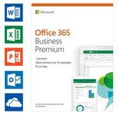 Microsoft Office 365 Business Premium - 1 jaar abonnement (download)