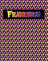 120 Page Handwriting Practice Book with Colorful Alien Cover Francisco