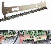 Sportixx Chain Checker - Fiets Kettingmeter - Fietsketting Slijtagemeter - Gereedschap om slijtage van ketting te controleren.