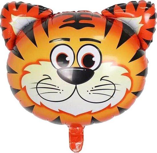 Folie helium ballon Tijger 76cm