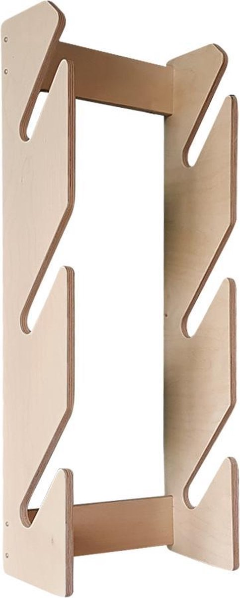 Board Racks - Longboard accessoires - Longboard rek - Longboard houder - Board rack - Wandrek voor 3 longboards/skateboards