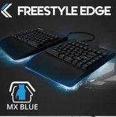 Kinesis FreeStyle Edge Cherry MX Blue - incl. VIP3 liftkit