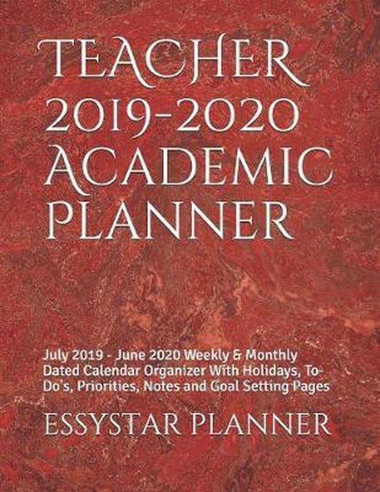 TEACHER 2019-2020 Academic Planner