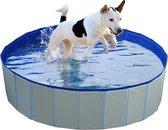 Hondenzwembad Blauw Ø120x30cm