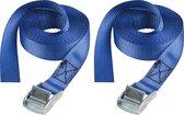 MasterLock - Spanband - 2,5m x 25mm - Blauw - 2 stuks