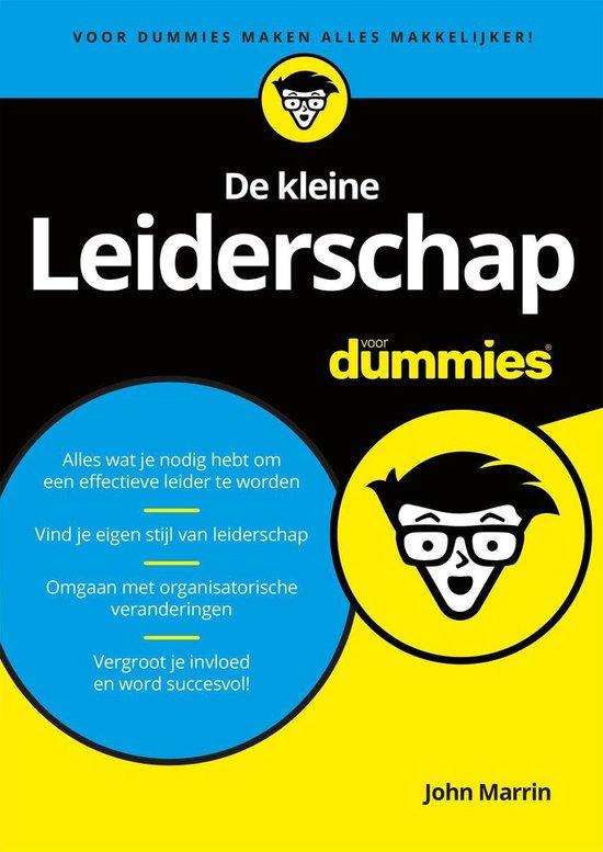 Voor Dummies - De kleine leiderschap voor dummies - John Marrin pdf epub
