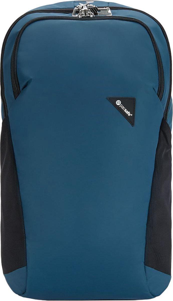 Pacsafe Vibe 20-Anti diefstal Backpack-20 L-Blauw (Eclipse)
