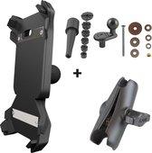 Getnord Lynx houder + draadloze oplader - RAM mount - robuuste smartphone - kit voor motor