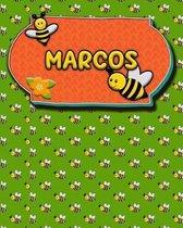 Handwriting Practice 120 Page Honey Bee Book Marcos