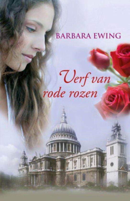 Verf van rode rozen - Barbara Ewing |