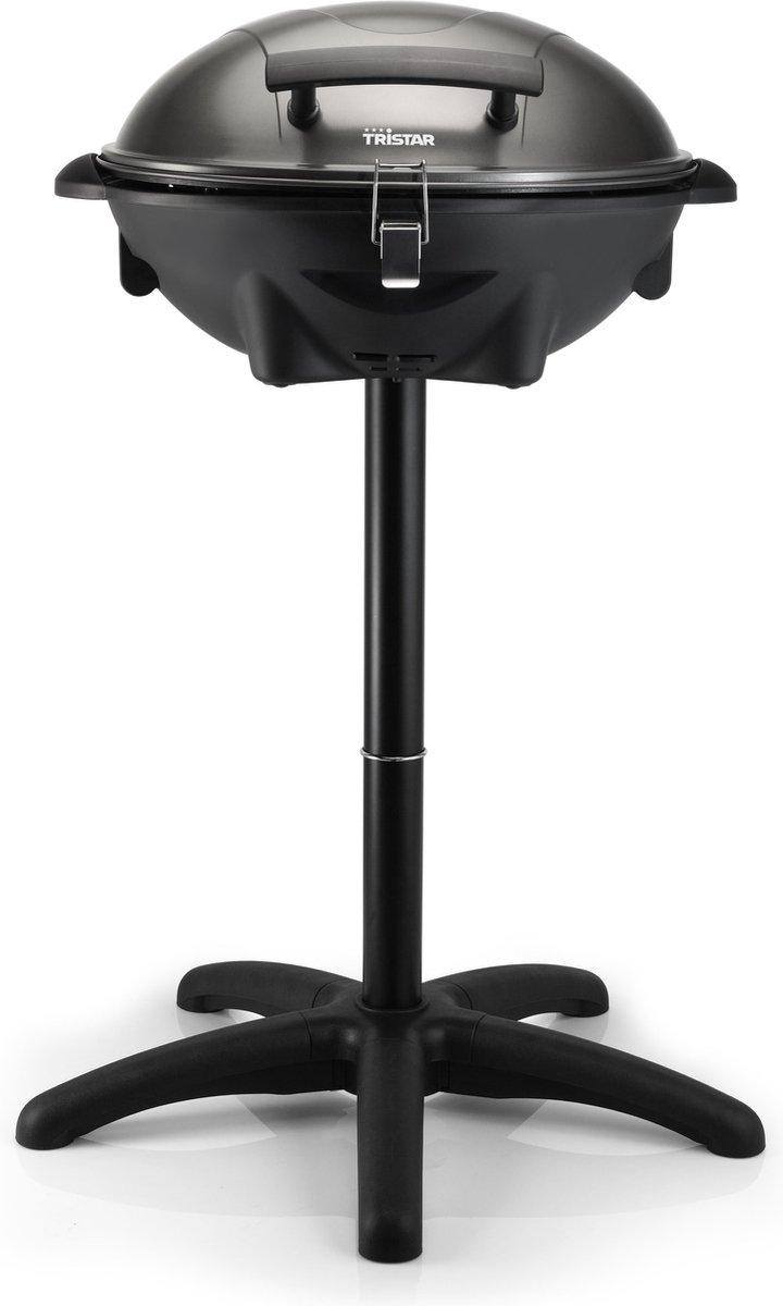 Tristar BQ-2816 Barbecue - Grilloppervlak (LxB) 46x35 cm - 2200W - Met Onderstel - Zwart