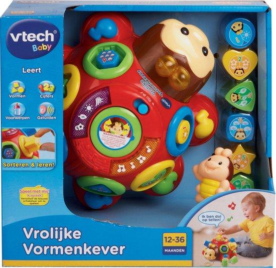 VTech Baby Vrolijke Vormenkever Rood - Vormenstoof - VTech