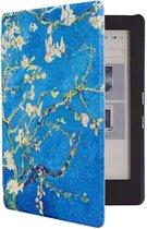 Shop4 - Sleepcover voor Kobo Clara HD - Bloesemboo