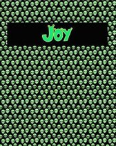 120 Page Handwriting Practice Book with Green Alien Cover Joy
