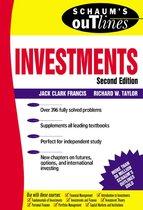 Boek cover Schaums Outline of Investments van Jack Francis
