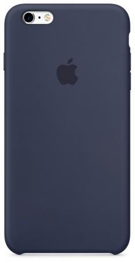 Apple iPhone 6/6S silicone hoesje - donkerblauw - Apple
