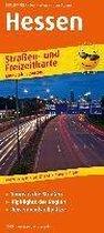Hessen. Straßen- und Freizeitkarte 1 : 200 000
