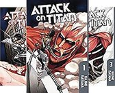 Attack On Titan Season 1 Part 1 Manga Box Set