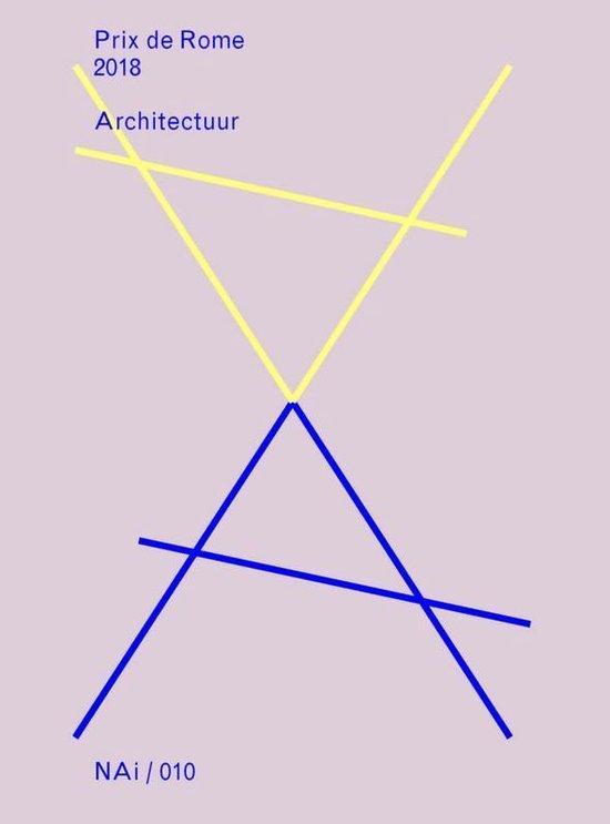 Boek cover Prix de Rome- Architectuur/Architecture 2018 van Louise O. Fresco, Sander Heijne (Paperback)
