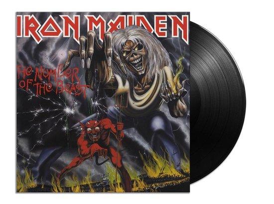 CD cover van The Number Of The Beast (LP) van Iron Maiden